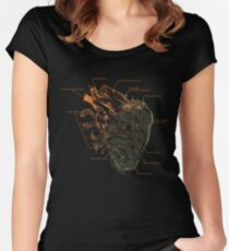 Artificial emotions Women's Fitted Scoop T-Shirt