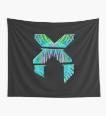 Psychedelic Excision Logo Wall Tapestry