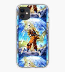 Dragon ball z goku 3 saga 3 iphone case