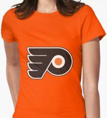 Philadelphia Flyers Logo Women's Fitted T-Shirt