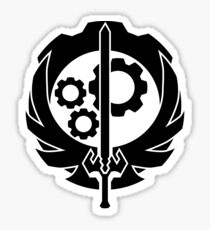 A Better Brotherhood of Steel Symbol Sticker