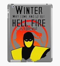 Scorpion Mortal Kombat Winter iPad Case/Skin