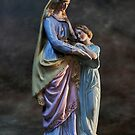holy statuette by dagmar luhring