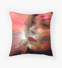 CRISTINA...WITHOUT YOU Throw Pillow