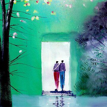 Entering the light by arnene