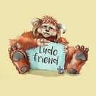 Ludo by Sarah  Mac Illustration
