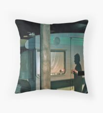 As I returned to the caravan... Throw Pillow