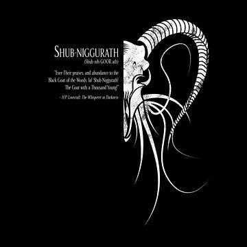 Shub-Niggurath (marble, reversed) by Deefurdee