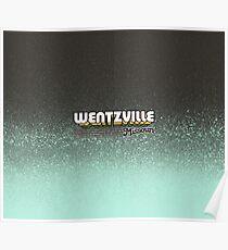 Wentzville, Missouri   Retro Stripes Poster