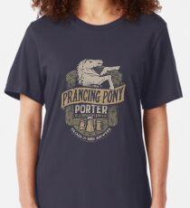 Prancing Pony Brewery Design Slim Fit T-Shirt