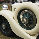 Art deco era Armstrong Siddeley car detail by greenbeam