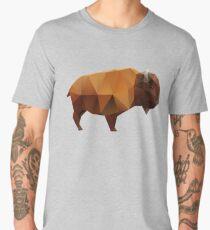 Polygonal Buffalo Men's Premium T-Shirt