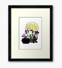 Little wizard Framed Print