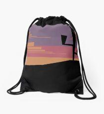 Desert Sunset Drawstring Bag