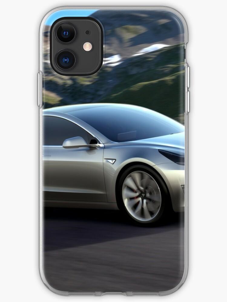 Tesla Logo 2 iphone case