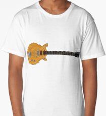 Malcolm's Guitar Long T-Shirt