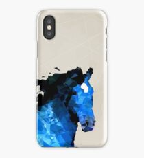 Abstract horse iPhone Case/Skin