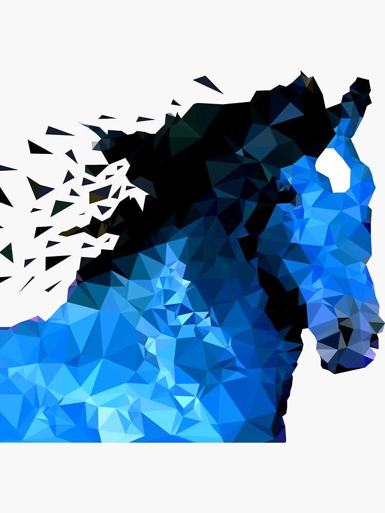 Abstraktes Pferd von AndrewBzh