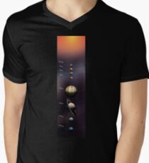 Solar Sistem Men's V-Neck T-Shirt
