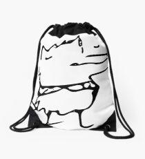 Self-Hug Dog Drawstring Bag