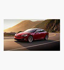 Tesla Model S (3) Photographic Print