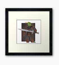 Veezara - Skyrim Framed Print