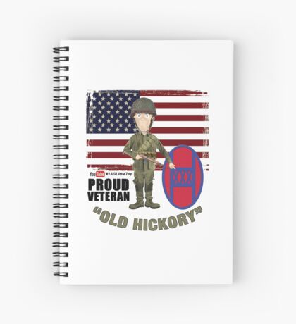 NC National Guard- Old Hickory Spiral Notebook