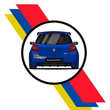 Renault Clio Sport 197 Flag / Rear by PixelRandom