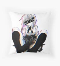 Koneko Waifu Throw Pillow