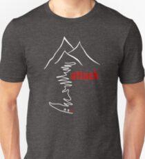 Cycling Climb, Attack Unisex T-Shirt