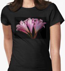 Belladonna on Black Women's Fitted T-Shirt