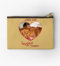 Long Live Snuggle Power Studio Pouch