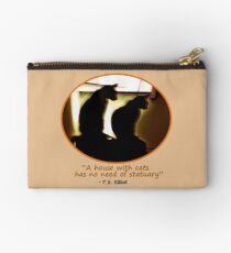Two Cats in Sillouette Studio Pouch