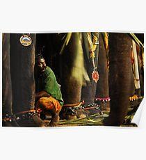 Mahut (elephant trainer) Poster