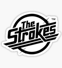 The Strokes Logo Sticker