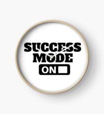 Success Mode On - Motivation T Shirt, Positive Thinking, Inspiring Tee  Clock