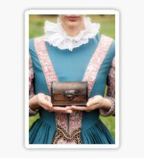 renaissance lady Sticker