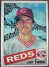 039 - Jay Tibbs by Foob's Baseball Cards