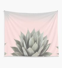 Blushing Agave Wall Tapestry