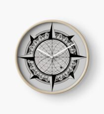 The Tarik Compass Clock