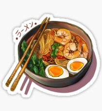 Japanses Ramen Noodles Bowl Sticker