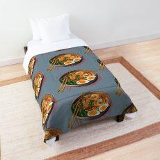 Japanses Ramen Noodles Bowl Comforter