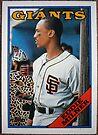 038 - Eddie Milner by Foob's Baseball Cards