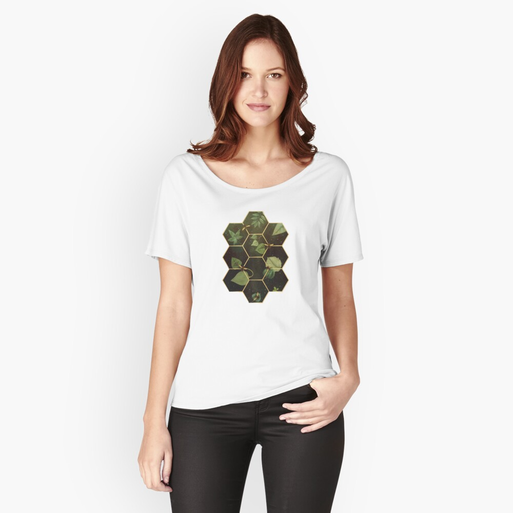 Bees in Space Relaxed Fit T-Shirt