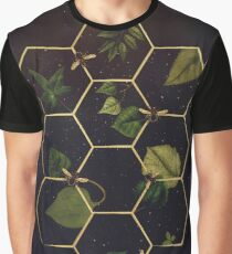 Bees in Space Graphic T-Shirt