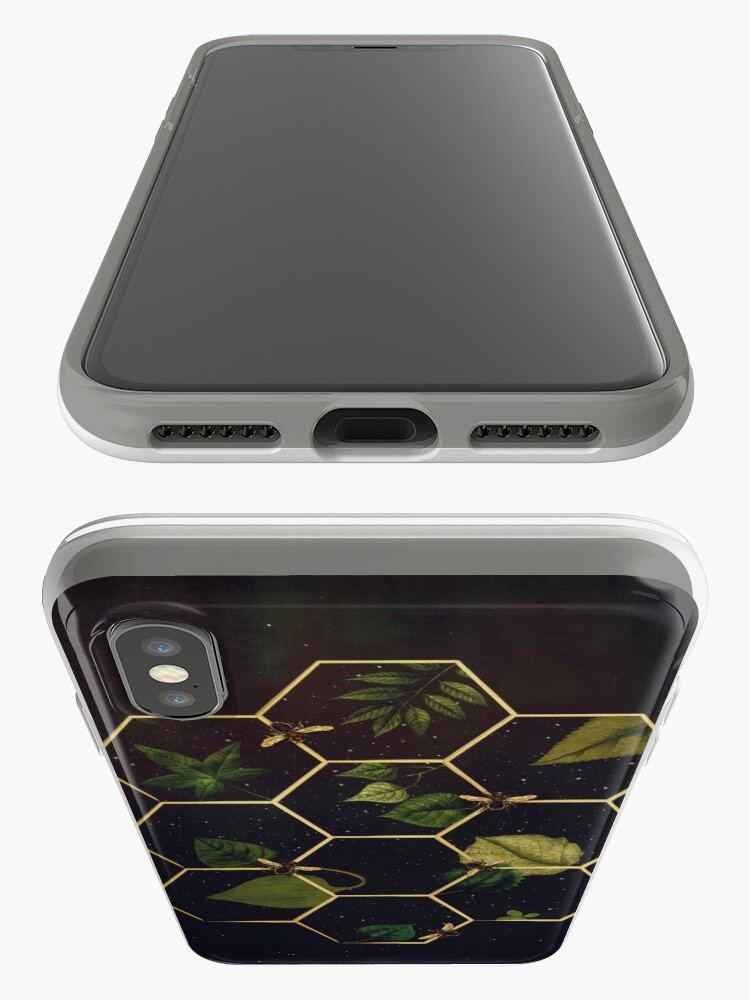 Alternate view of Bees in Space iPhone Case & Cover