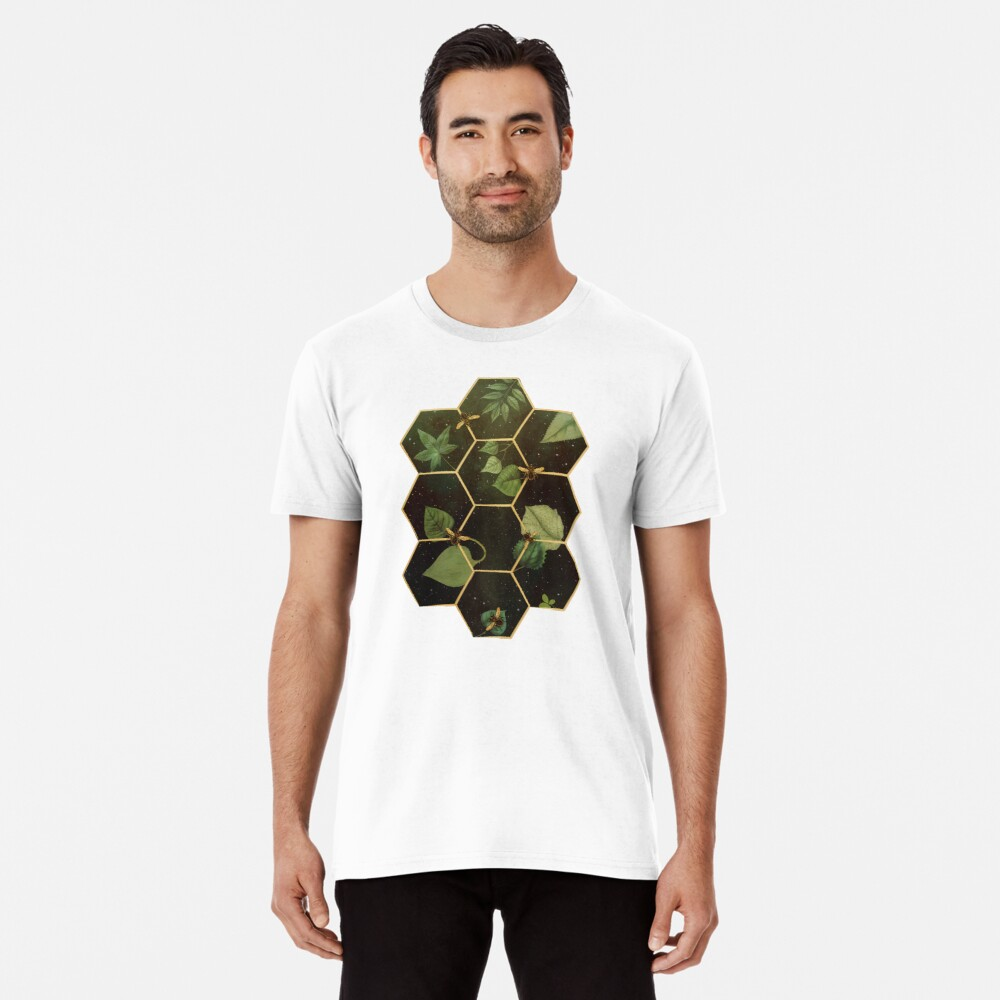 Bees in Space Premium T-Shirt