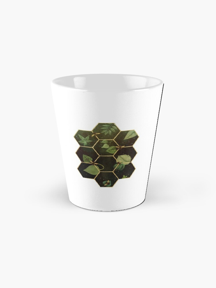 Alternate view of Bees in Space Mug