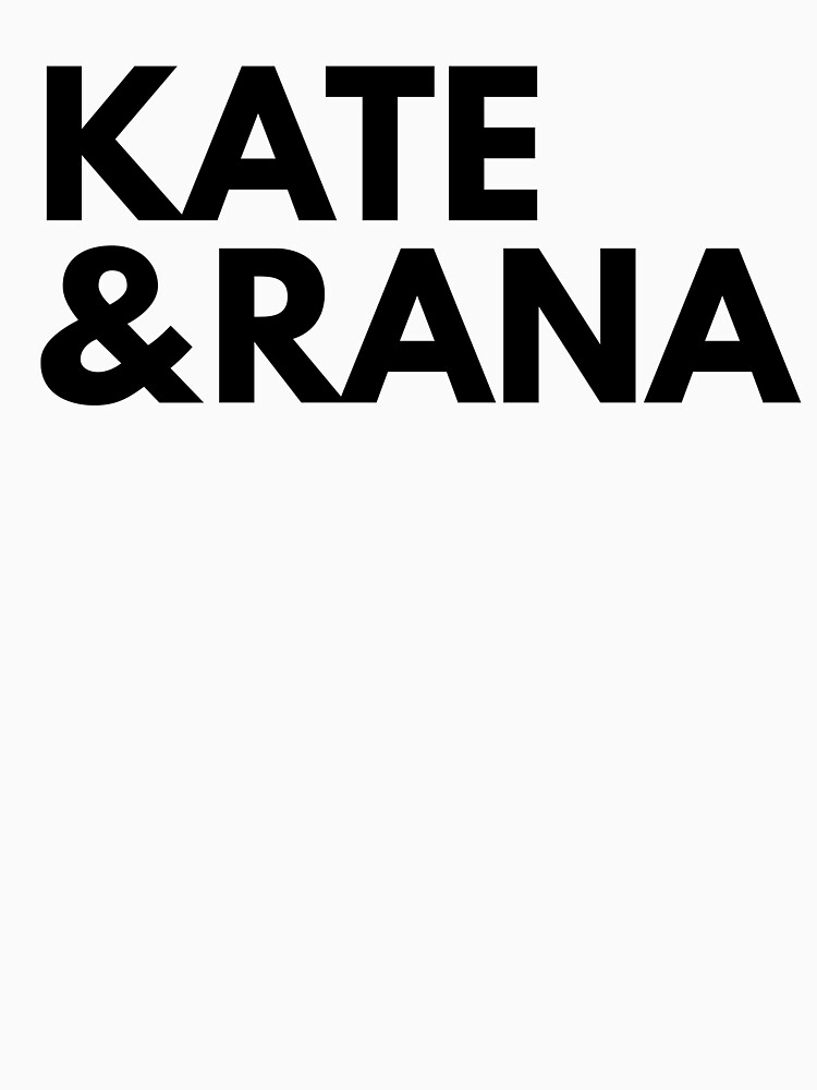 KATE AND RANA | KANA by laurenthomsxn