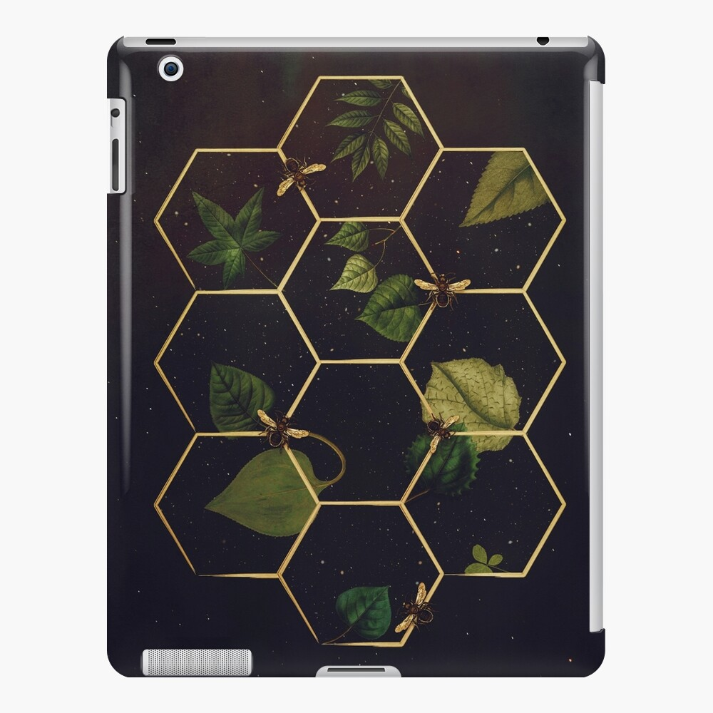 Bees in Space iPad Case & Skin